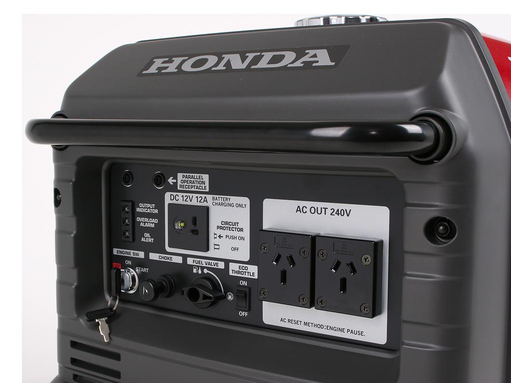 Honda eu30is inverter generator the honda shop midland for Honda financial services customer service number