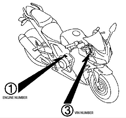 Honda 300 Fourtrax Brake Diagram Location Of Vin Number On Honda