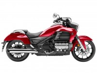 Red Honda Valkyrie