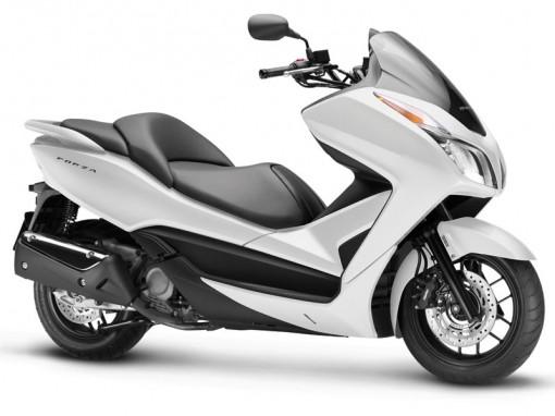 Honda Forza 300 white
