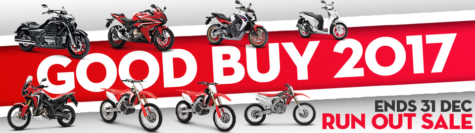 Honda Good Buy 2017 Run out Sale