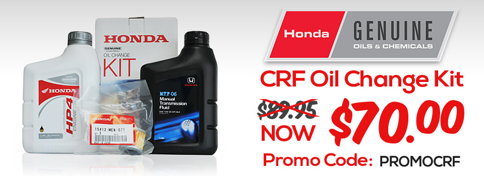 CRF Oil Kit