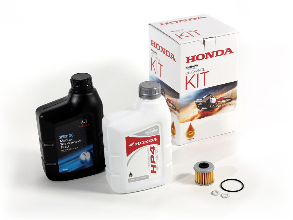 crf oil change kit  honda shop