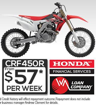 Hond CRF450R