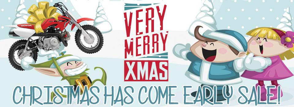 Christmas Minibikes