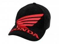 Honda Big Wing Cap Black