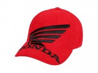 Honda Big Wing Cap Red