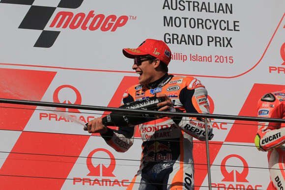 Magnificent Marquez Takes Win Number Five