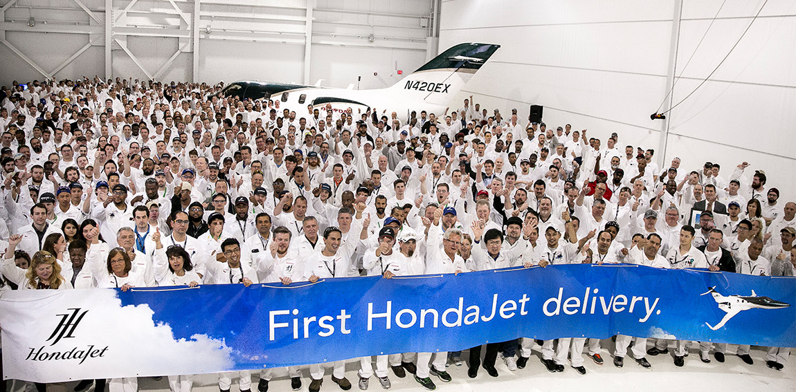 First Delivery of Hondajet