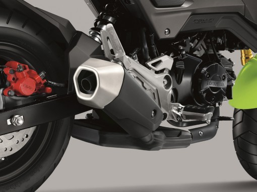 Honda MSX 125 Grom Exhaust