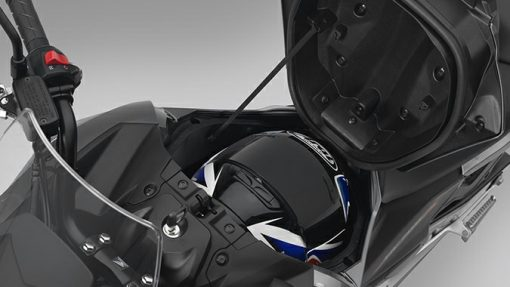 Honda NC750X storage