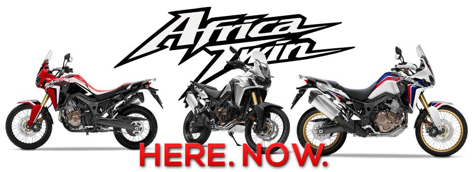 Africa Twin test Rides