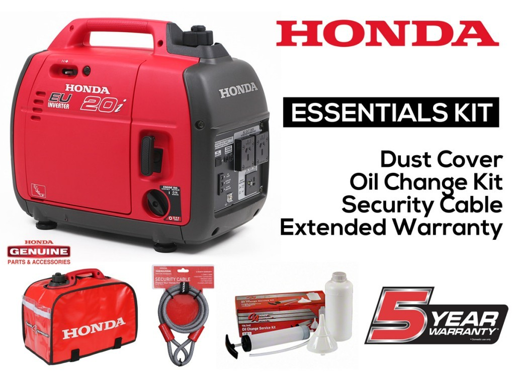 Honda EU20i Generator Essentials Kit