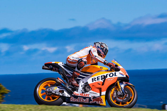 Marquez and Fellow RCV Riders Advance Electronics Development