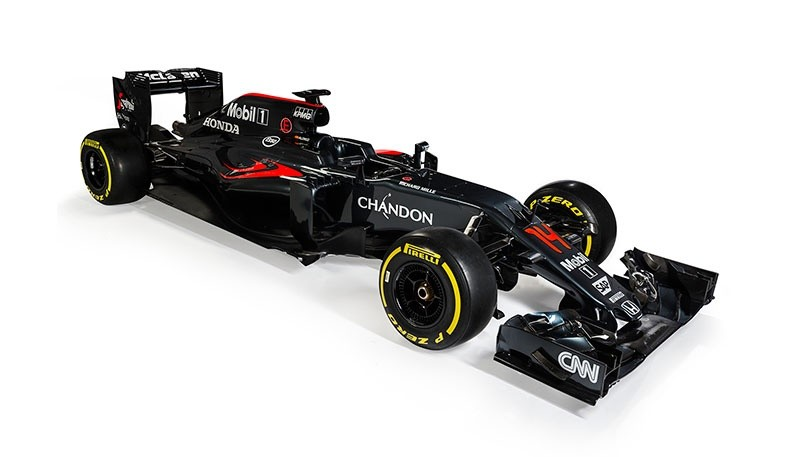 McLaren-Honda unveils New MP4-31
