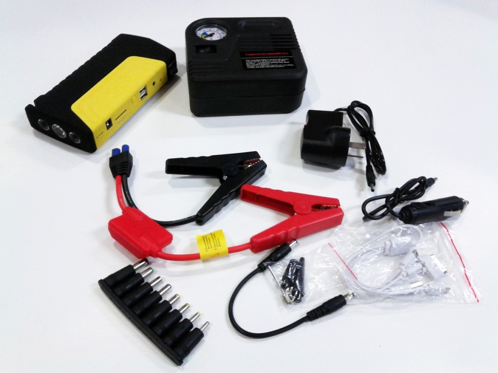 Poweron Plus Jump Starter and Compressor