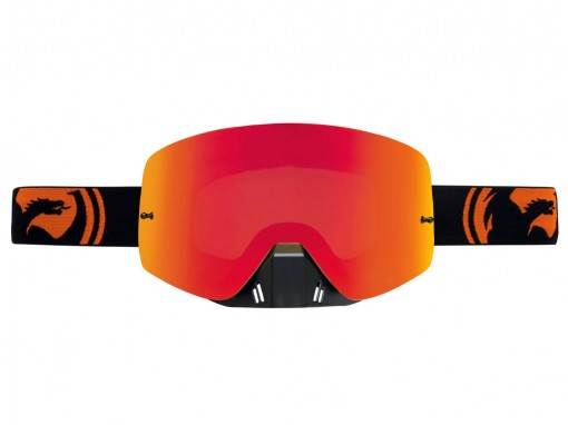 Dragon NFXS Black Orange Split Goggles