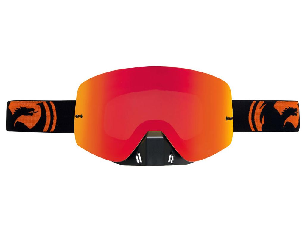 Dragon NFXS Black Orange Split Goggles