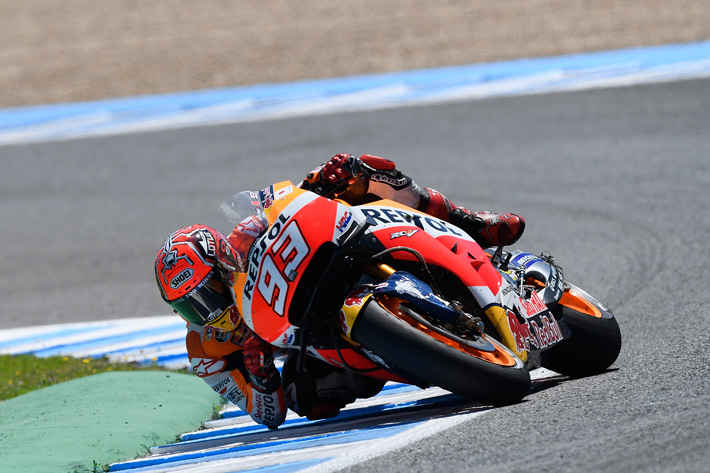 Marquez Maintains Title Lead