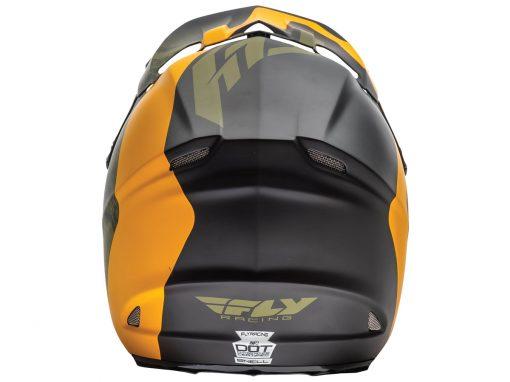 fly-helmets-f2carbon-pure-mattblk orange camo-back