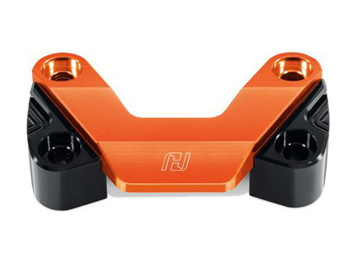 Honda Grom Handlebar Clamp Orange