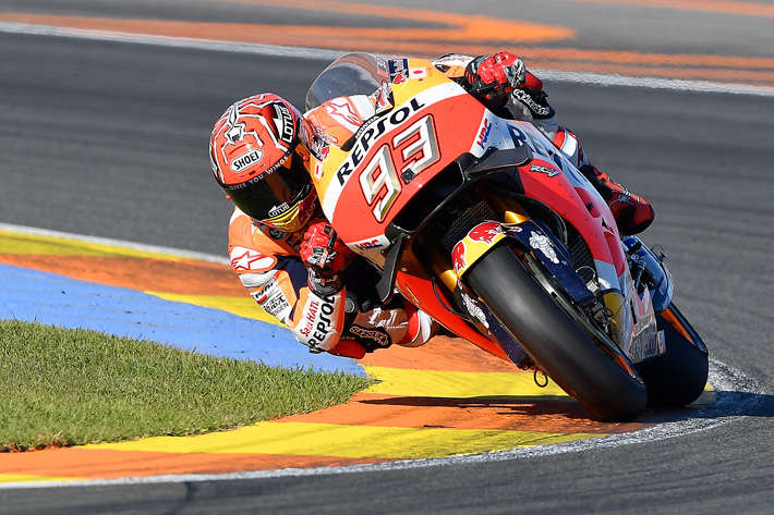 Marc Marquez takes 2nd in Valencia