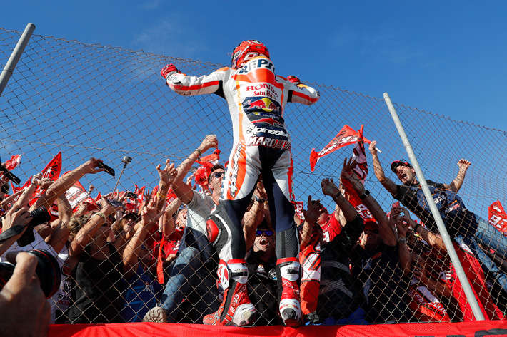 Marc Marquez World Champion 2016