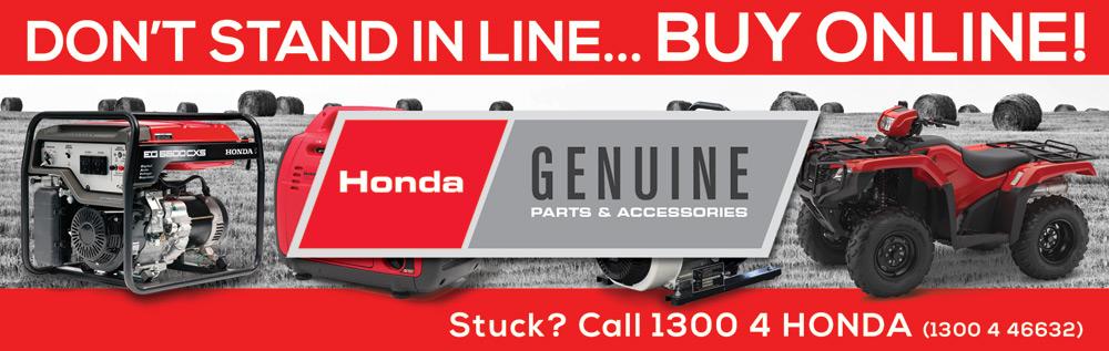 Honda Parts Oz Banner
