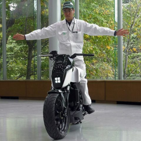 Self balancing bike