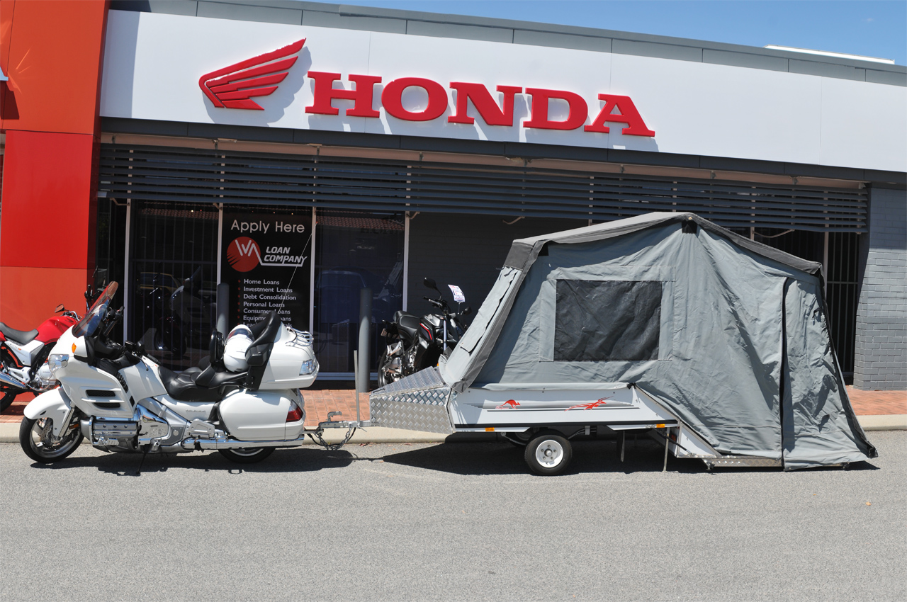 Honda Goldwing trailer package