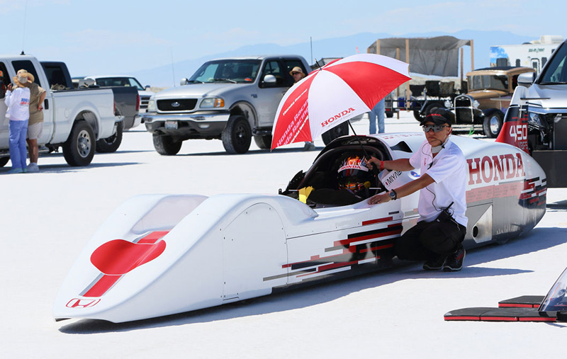Honda Land Speed Record Attempt