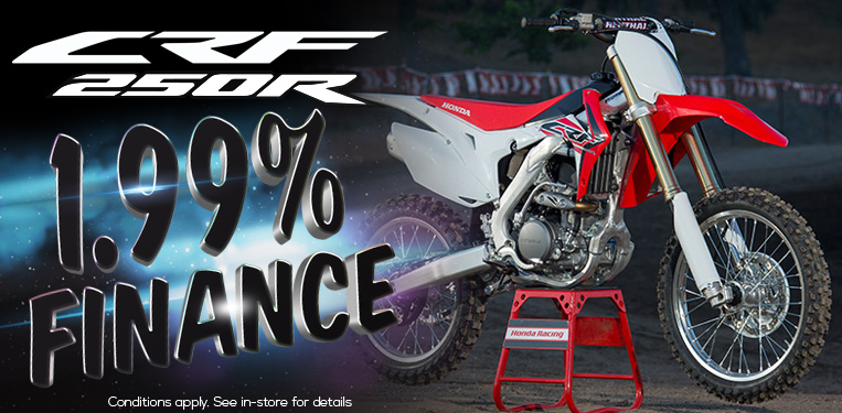 CRF250R Finance Offer