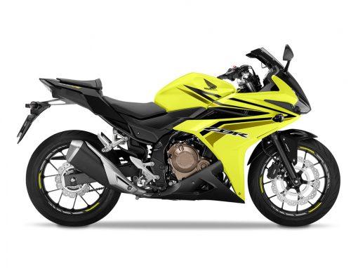 2017 Honda CBR500RA Yellow