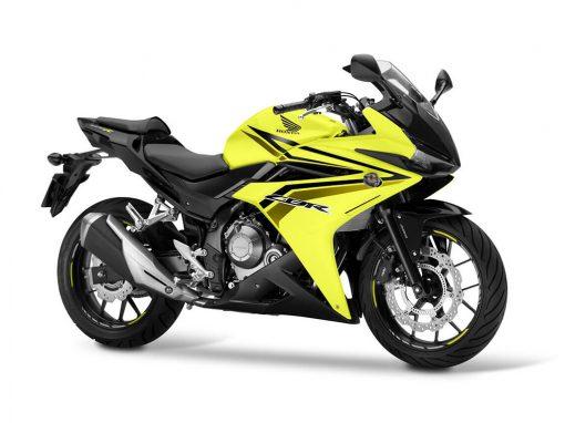 2017 Honda CBR500R Yellow