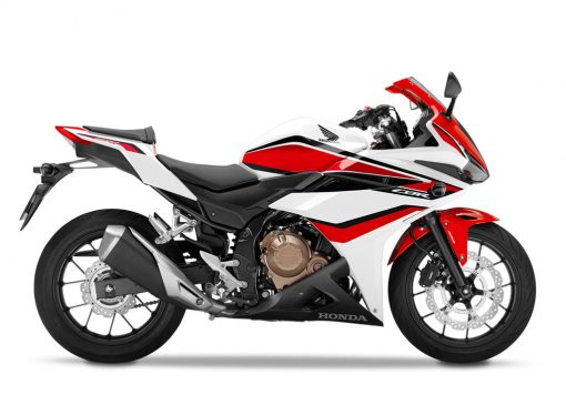 Honda CBR500RA ABS White Red