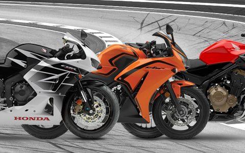 Honda CBR600RR CBR300RA CB300F
