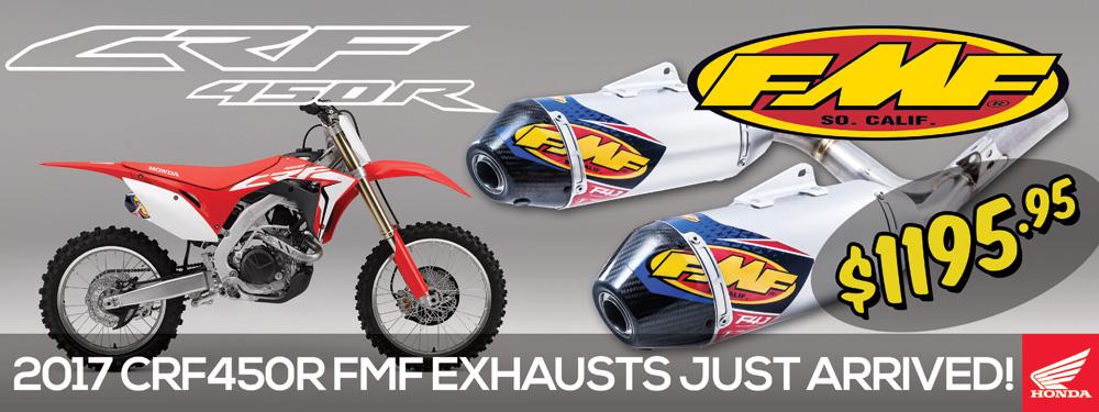 FMF Exhaust CRF450R 2017