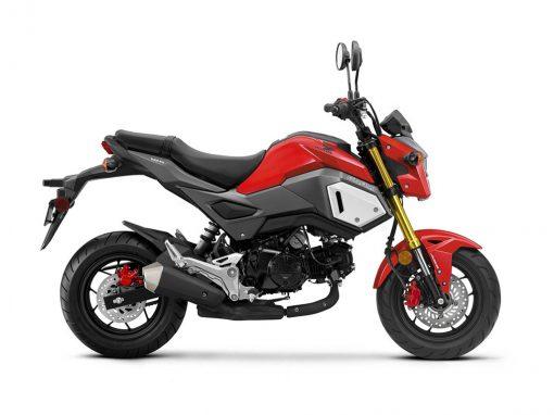 Honda MSX125 Grom Gayety Red