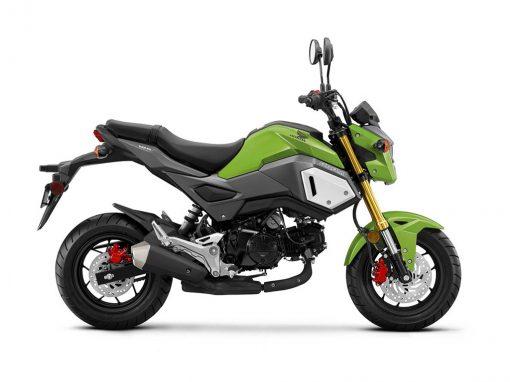 Honda MSX125 Grom Hulk Green