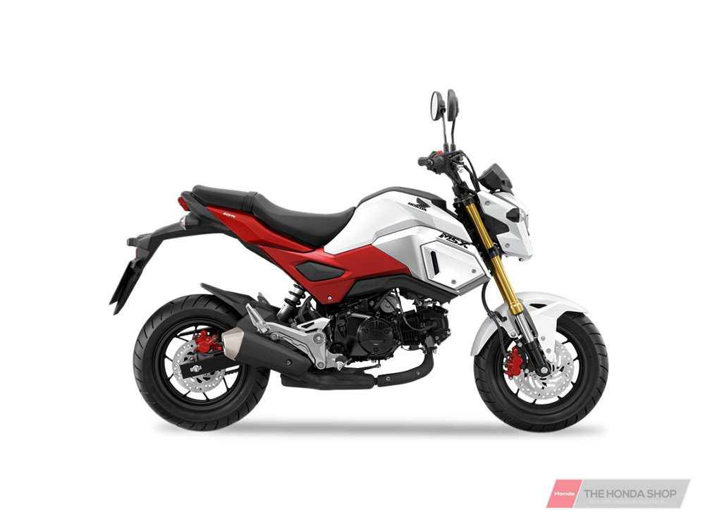 Honda Grom 2021 Ross White MSX125