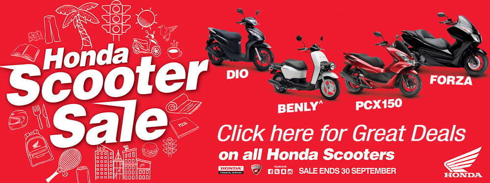 Scooter Sales banner