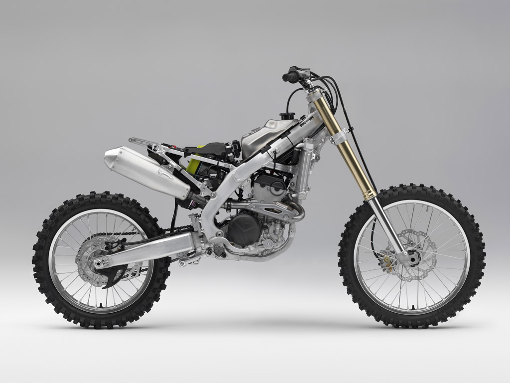 Honda CRF250R 2018 uncovered