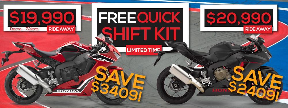 Honda CBR1000RR Free Quick Shift
