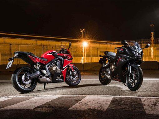 Honda CBR650FL Black and Red 2017