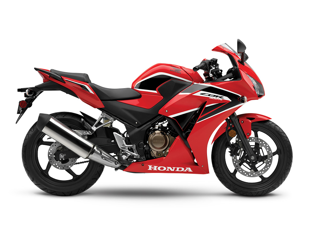 Honda CBR300RA ABS Red