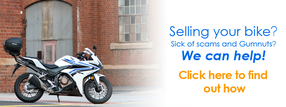 Sell your bike with The Honda Shop