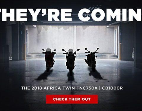 New 2018 Honda Motorcycles Coming Soon