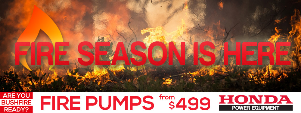 Bush Fire Season Banner