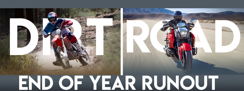 The Honda Shop End Of Year Runout Sale