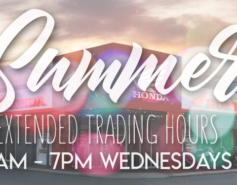Summer Trading Hours